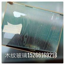 家具玻璃木纹玻璃
