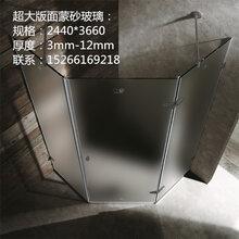 厂家提供超大版面欧茶蒙砂玻璃、灰玻蒙砂玻璃