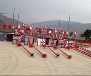 广西南宁民族特色6米30瓦太阳能路灯厂家图片