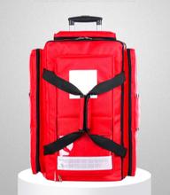 消防急救包厂家定做应急背囊包救灾拉杆箱拖轮包消防急救包拉杆箱加工厂急救包急救箱图片
