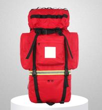 医疗出诊车载背包牛津布急救双肩急救包野外急救箱双肩包定做加工图片