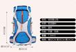 2021上海箱包廠家生產戶外登山包大容量多功能旅行包