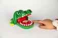 发声恶搞整人塑胶玩具儿童小孩玩具礼品大鳄鱼款