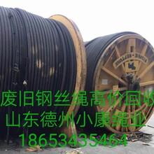 上海周边常年废旧钢丝绳回收图片