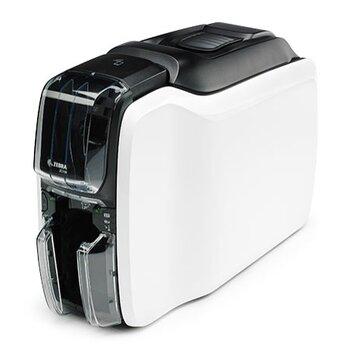 ZEBRA(斑馬)證卡打印機ZC100工作證健康證標牌ICID卡會員卡PV卡片打印標配單機