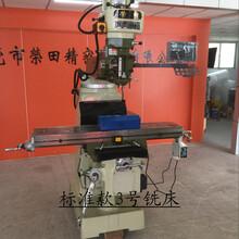 供应台湾快捷标准款3号铣床炮塔立式铣床配件定制图片