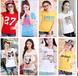 韩版黑龙江女士服装妇女装大码宽松孕妇服装T恤短袖清仓