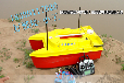 好雅致库钓必备,抗6及风浪的打窝船,四个独立料斗,载饵8公斤的打窝船!