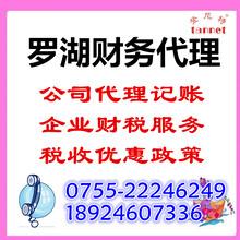 深圳罗湖财务代理企业服务