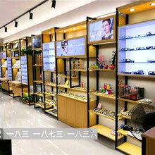 丽江高档烤漆眼镜展示柜太阳镜货架眼镜专卖店展柜眼镜中岛柜台