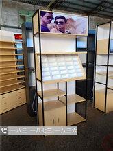 乐山烤漆眼镜展示柜台太阳镜货架眼镜专卖店展柜眼镜货架中岛柜台