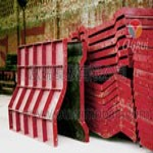 平頂山蓋梁鋼模板租賃,平頂山防撞墻組合鋼模板租賃圖片