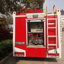 东风多利卡3.5吨水罐消防车适合厂区自用消防车厂家图片