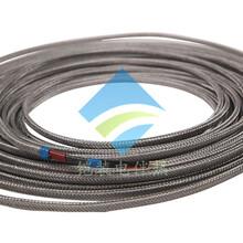 安徽铠装RDC型串联恒功率电热带石油管道防冻伴热电缆长输管线加热电缆电伴热带电加热带图片