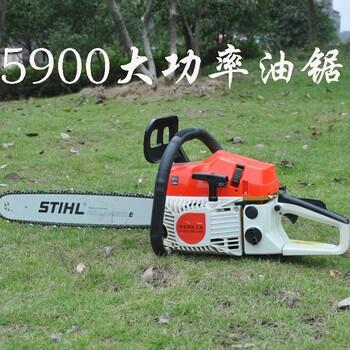 手持式伐木机大功率动力锯油锯价格