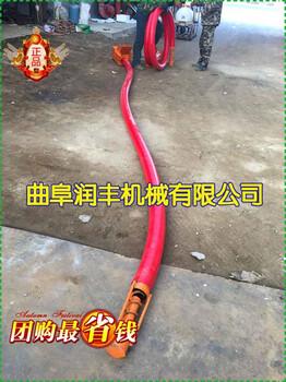 花生米豆粒抽粮机不塞不堵软管吸粮机红管加厚吸粮机