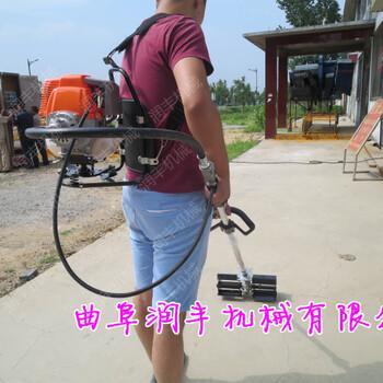 不用下腰的小型旋耕机锄地翻土机型号170型松土犁地机