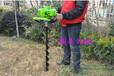 蔬菜大棚挖穴机小型挖坑机质保汽油机挖坑机
