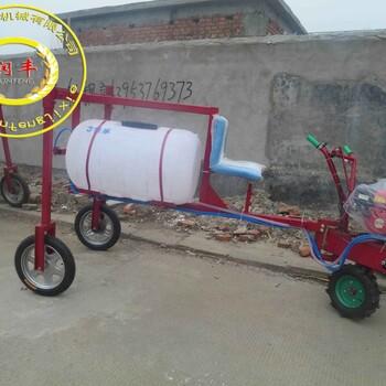 四轮手推式喷雾器担架高压打药机蔬菜农田汽油喷雾器