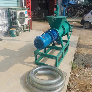 干湿脱水机脱水挤干机粪渣分离机清理脱水机