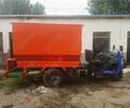 电动撒料车刮板撒料机柴油撒料机规格养殖投料机