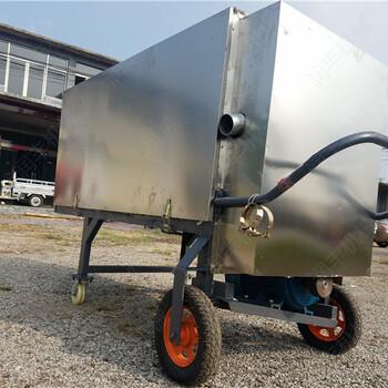 猪圈粪水分离机固态鲜粪处理机不会生锈的脱水机