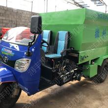 两侧同时草料撒料车移动式饲料投料机功能齐全撒料车图片