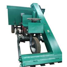 清洁羊场粪便清粪车代替人工自动清粪刮板式粪便清理车图片