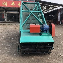 刨草取料机电动搭配撒料车取料机牧场具备青贮取料机图片