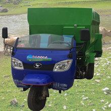 柴油動力撒料車廠家青儲飼料喂料車環保型撒料車圖片