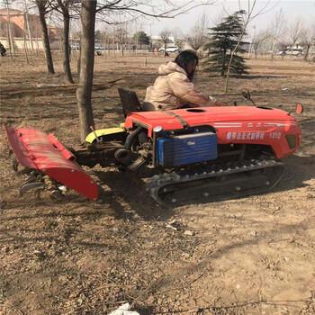 自走式农田机多功能多用履带机35马力硬土地开沟机