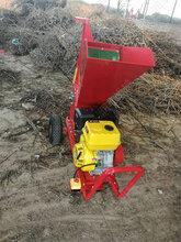環保型木材粉碎機家用便利打碎機柴油機帶樹枝粉碎機