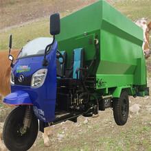 电动自走投料车喂牛简化撒料车快速出料撒料车图片