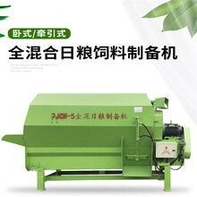 拖拉機帶攪拌機雙軸拌料機多功能tmr攪拌機圖片