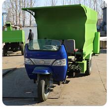 雙邊下飼料撒料車電動喂料車養殖牛羊豬撒料車圖片