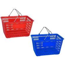昆明超市購物籃購物筐廠家直銷批發圖片