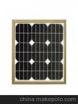 供应5w-50w的单晶太阳能电池板图片
