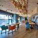 西安轻食餐厅桌椅定做西安轻食餐厅家具西安餐饮家具厂家