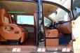 西安奔驰威霆商务车改装棕色内饰航空座椅