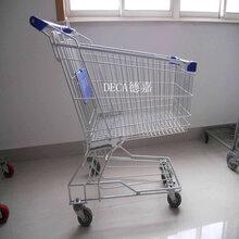 超市购物车手推车折叠车电梯轮容量60升-210升图片
