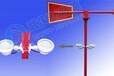 MWS-R1L带灯夜光金属风向标,使用寿命5-10年