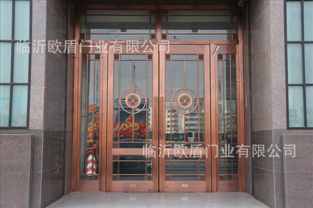 铜门生产厂家临沂欧盾门业有限公司