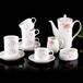 雪地陶瓷茶具(咖啡具)