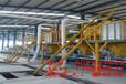 实现工厂化生产的生产线,七星复合自保温模板生产线