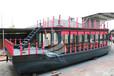 供应厂家直销欧式画舫船景观装饰船休闲船观光船