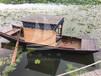 供应厂家直销休闲船景区观光手划单篷船旅游船