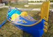 供应厂家直销欧式木船贡多拉游船手划船