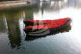 供应厂家直销景观船木船尖头船装饰船