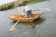 供应厂家直销捕鱼船小木船渔船河道保洁船