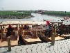 供應廠家直銷旅游觀光船單篷船手劃船搖櫓船木船